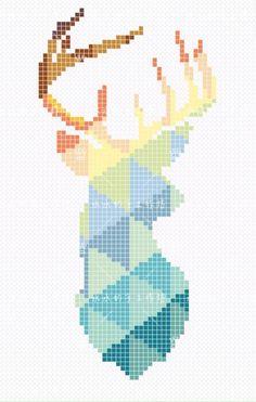 34 Ideas for embroidery patterns cross stitch crossstitch ideas Perler Bead Designs, Hama Beads Design, Hama Beads Patterns, Perler Bead Art, Perler Beads, Beading Patterns, Embroidery Patterns, Hama Perler, Needlepoint Patterns