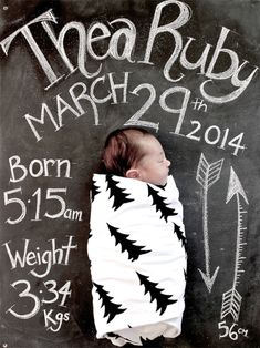 Little Spaces - Thea's Room | Little Gatherer birth announcements sports, baseball birth announcements #baby #newborn
