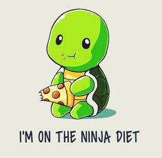 I'm on the ninja diet