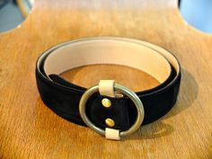 FUJITO Leather Ring Belt
