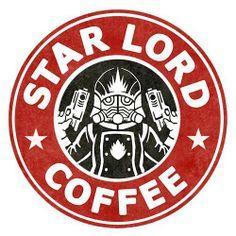 Star Lord Coffee - Guardians of The Galaxy - #guardiansofthegalaxy #marvelcinematicuniverse #kurttasche