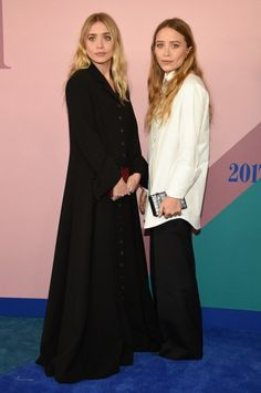 midnight-charm: Ashley Olsen and Mary-Kate Olsen attend the