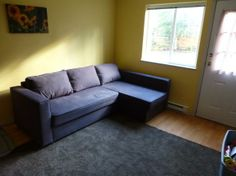 $100 OBO Ikea Softabed with chaise lounge
