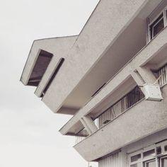 Passenger port of Gdansk shipping arch. Jan Zaleski 1980 #podrys #instaphoto #inspiration #city #life #love #balcony #beautiful #travel #sea #port #happy #day #landscape #light #wall #building #urban #architecture #archilovers #details #design #pattern #geometry #modernism #modernizm #minimal #sun #gdynia #gdansk