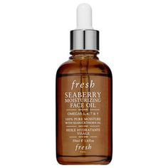 Fresh - Seaberry Moisturizing Face Oil #sephora.  I read that one should add a facial oil to their skincare routine in their 40's because this is when skin starts drying out.