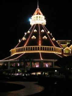 Holidays at the Hotel del Coronado