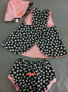 Baby Girl Dress Patterns, Baby Clothes Patterns, Baby Girl Dresses, Clothing Patterns, Baby Overalls, Overalls Style, Overalls Fashion, My Baby Girl, Baby Sewing