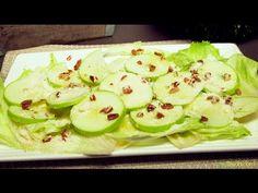 Ensalada de Manzana Verde y Lechuga | Recetas de Ensaladas | Recetas Fác...