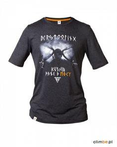 Męska koszulka wspinaczkowa Kuźnia prze-mocy