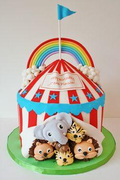 3. #cirque gâteau... - 7 #gâteaux d'anniversaire étonnants que vous #aurez envie d'essayer... → Food