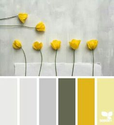 Yellow flower pallette...