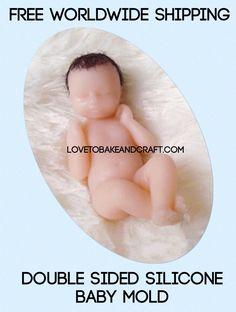 Muñeca de arcilla de polímero #Arcilla #Muñecadebarro  #MuñecadeOoak #BebéOoak #moldedelbebé #moldedelamuñeca #cómohaceruna #muñecadelaarcilladelpolímero #muñecadeFimo #muñecadeSculpey  #muñecadePremo #muñecadeProsculpt #dollmold #polymerclaydoll #clay #dollart #doll from lovetobakeandcraft.com