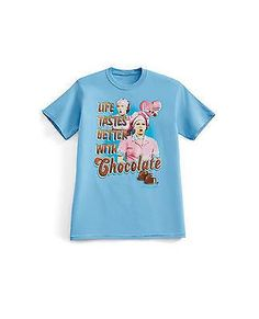 I Love Lucy Chocolate Scene Basic Tee PLus XL