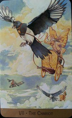 The Chariot: Victorian Fairy Tarot