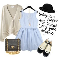 """""""..something chic.."""" by beautifulnoice on Polyvore"""
