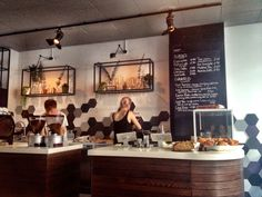 Curators Coffee House, London. Had a great americano there yesterday!