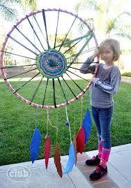 hoola hoop dream catchers - Google Search