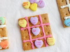 Valentine Tic Tac Toe Snack Craft