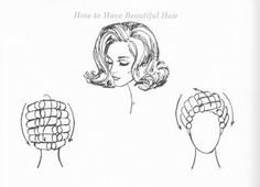 Classic roller setting pattern for the classic bouffant.