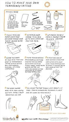1000 ideas about temporary tattoo paper on pinterest for Temporary tattoo tracing paper