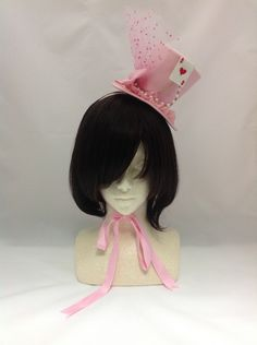 Star Night Theater Mini Hat in Pink from Angelic Pretty - Lolita Desu