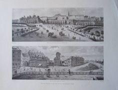 Vor den Kärntnertoren und auf der Neutorbastei - Reprint Druck Wien