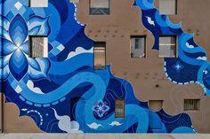As mandalas zen pop coloridíssimas do casal Hitotzuki http://followthecolours.com.br/art-attack/mandalas-zen-pop-coloridissimas-casal-hitotzuki/