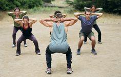 Kniebeugen - 6 Po-Übungen für den knackigen Hintern