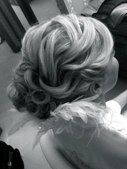 Beautiful criss-crossing hair.