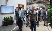 JEDDAH: Deputy Crown Prince Mohammed bin Salman visited the headquarters of Facebook on Wednesday and met with the company's Chairman & Co-Founder Mark Zuckerberg. The deputy crown prince, who is on a multiple day visit to the US, has met with major tech figures in Silicone Valley and has signed agreements with tech giants there.