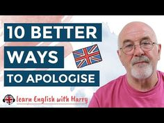 10 Better ways to apologise in English - Don't say Sorry in English French Lessons, Spanish Lessons, English Lessons, English Grammar Rules, English Vocabulary, Learn French, Learn English, Ways To Say Sorry, English Teaching Resources