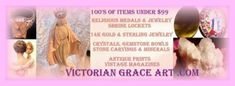 Victorian Grace Art-Antiques-Collectible Jewelry