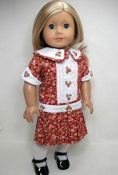 1900 to 1920 style American girl doll by JasmineDollFashions