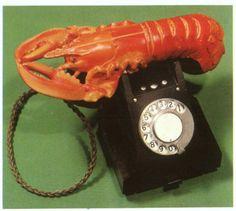Lobster phone, Salvador Dali.