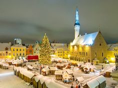 Christmas in Europe..