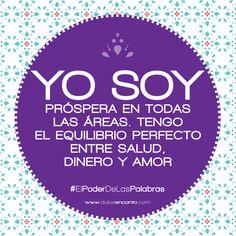 Cambia tus palabras para cambiar tu vida - Cambiemos Juntas el Mundo. #ElPoderDeLasPalabras #frases #YoSoy #FraseDelDía #CambiemosJuntasElMundo