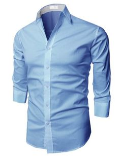 H2H Mens Fashion Dress Shirts with 3/4 Sleeve Various Colors SKYBLUE US S/Asia M (JASK14_13) H2H http://www.amazon.com/dp/B00DJ1EM8S/ref=cm_sw_r_pi_dp_cZGiub005HQ5H