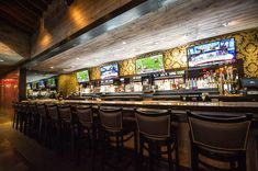 The Sports Bar Goes Glam