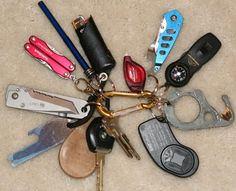 The Ultimate Survival Keychain