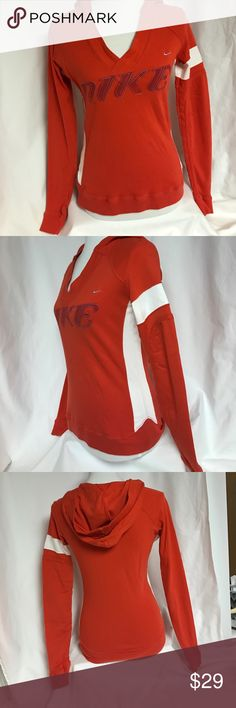 Nike Long sleeved 100% cotton hoodie by Nike. Nike Tops Sweatshirts & Hoodies