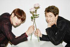 Jungkook and Rap Monster ❤ BTS for GQ Korea Magazine December Issue 'Men of the Year' #BTS #방탄소년단