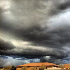 Wild Arizona Skies Hail Storm, Do It Right, Extreme Weather, Storms, Lightning, Arizona, Clouds, Sky, Outdoor