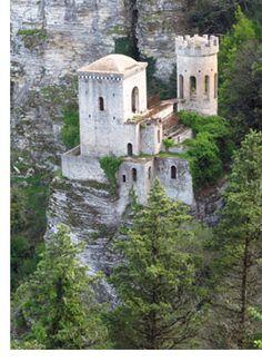 Sicily, Italian Castle Fort