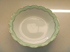 Johnson-Bros-England-RUTH-green-floral-gold-trim-SOUP-BOWL-Free-Shipping Johnson Bros, Decor Room, Porcelain, Dining Room, Soup, England, Free Shipping, Tableware, Floral