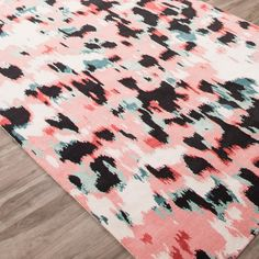 Kate Spade New York by Jaipur Murray Watercolor Leopard Hand Knotted Rug @LaylaGrayce