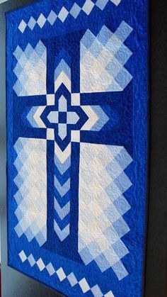 Looking for your next project? You're going to love Chevron Cross - Wall hanging: 32
