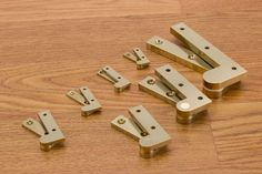Brusso is very proud of its line of Offset Knife Hinges.  Never stamped these are made to precision tolerances to provide a tight fit and excellent functionality.  Try them on your next project.    #brusso http://www.brusso.com/offset-pivot-hinges/