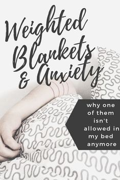 Weighted Blanket and Anxiety: There's Only Room In My Bed For One Of Sleep Better, Good Sleep, Positive Mindset, Positive Quotes, Natural Anxiety Relief, Anxiety Tattoo, Hate My Job, Restless Leg Syndrome, Sensory Issues