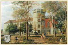 Castelul Huniade Old Town, Painting, Old City, Painting Art, Paintings, Painted Canvas, Drawings