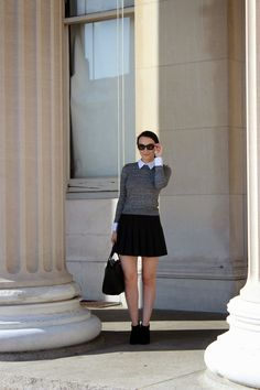 Alice and Olivia Collared Sweater